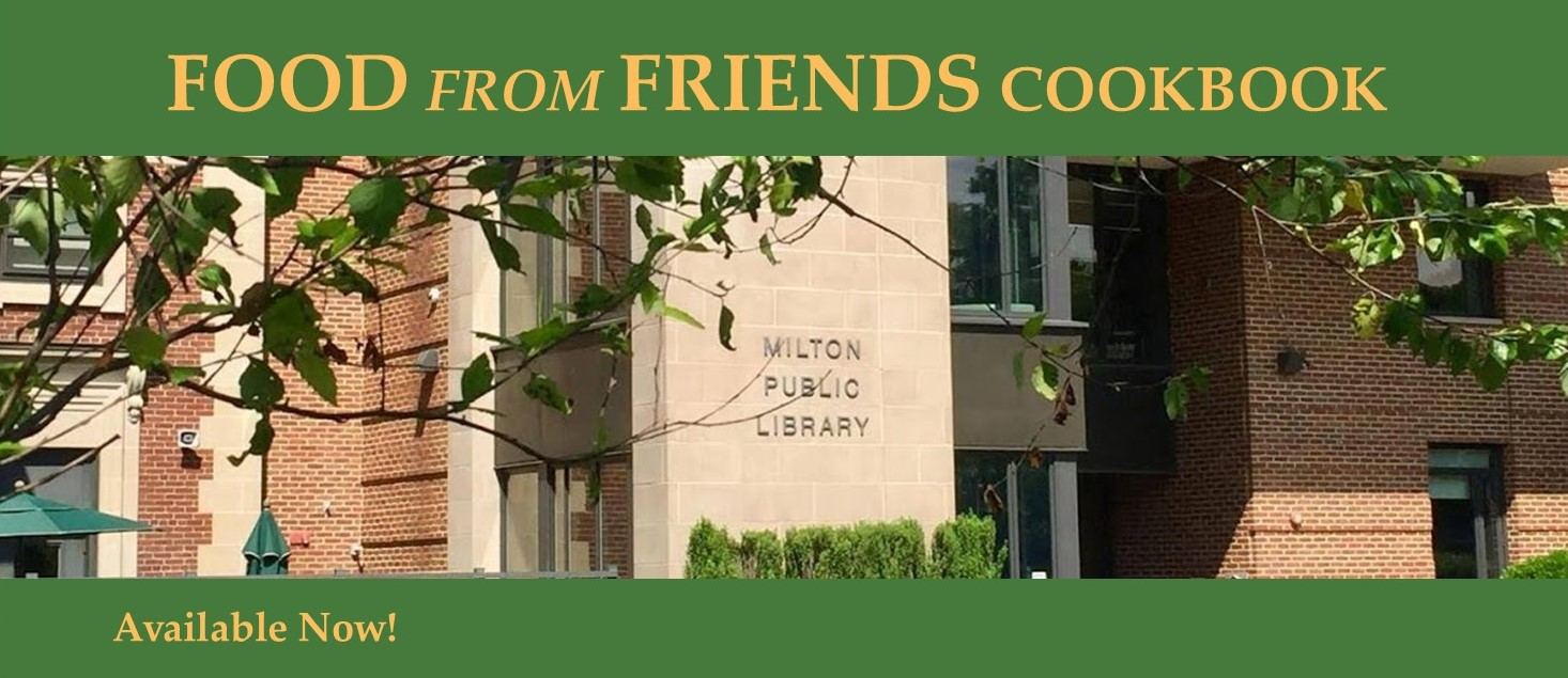 Friends of the Library Cookbook